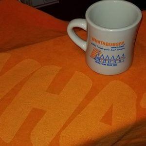 Whataburger Beach Towel & Mug